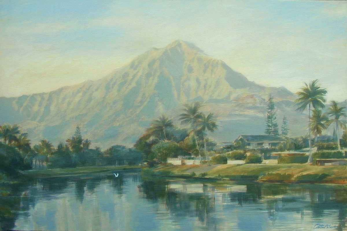 Kailua  Morning by  Carter Black - Masterpiece Online