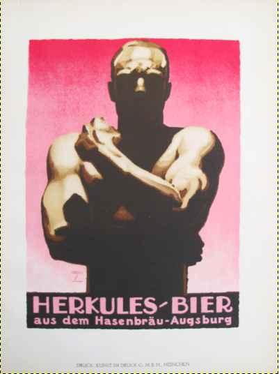 KBE106 - 1926 Herkule... by  Ludwig Hohlwein - Masterpiece Online