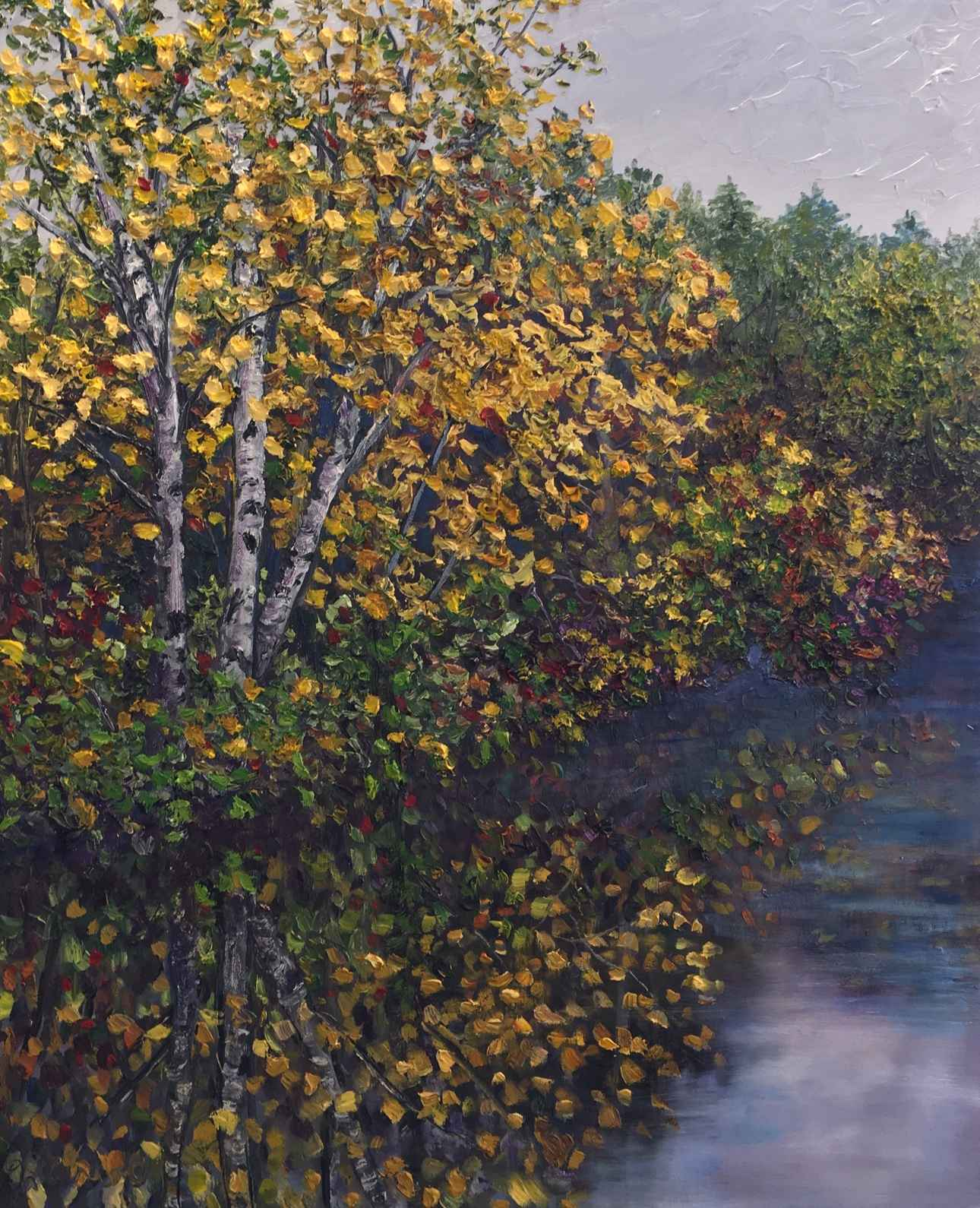 Birch Reflections by Ms Debra Lynn Carroll - Masterpiece Online