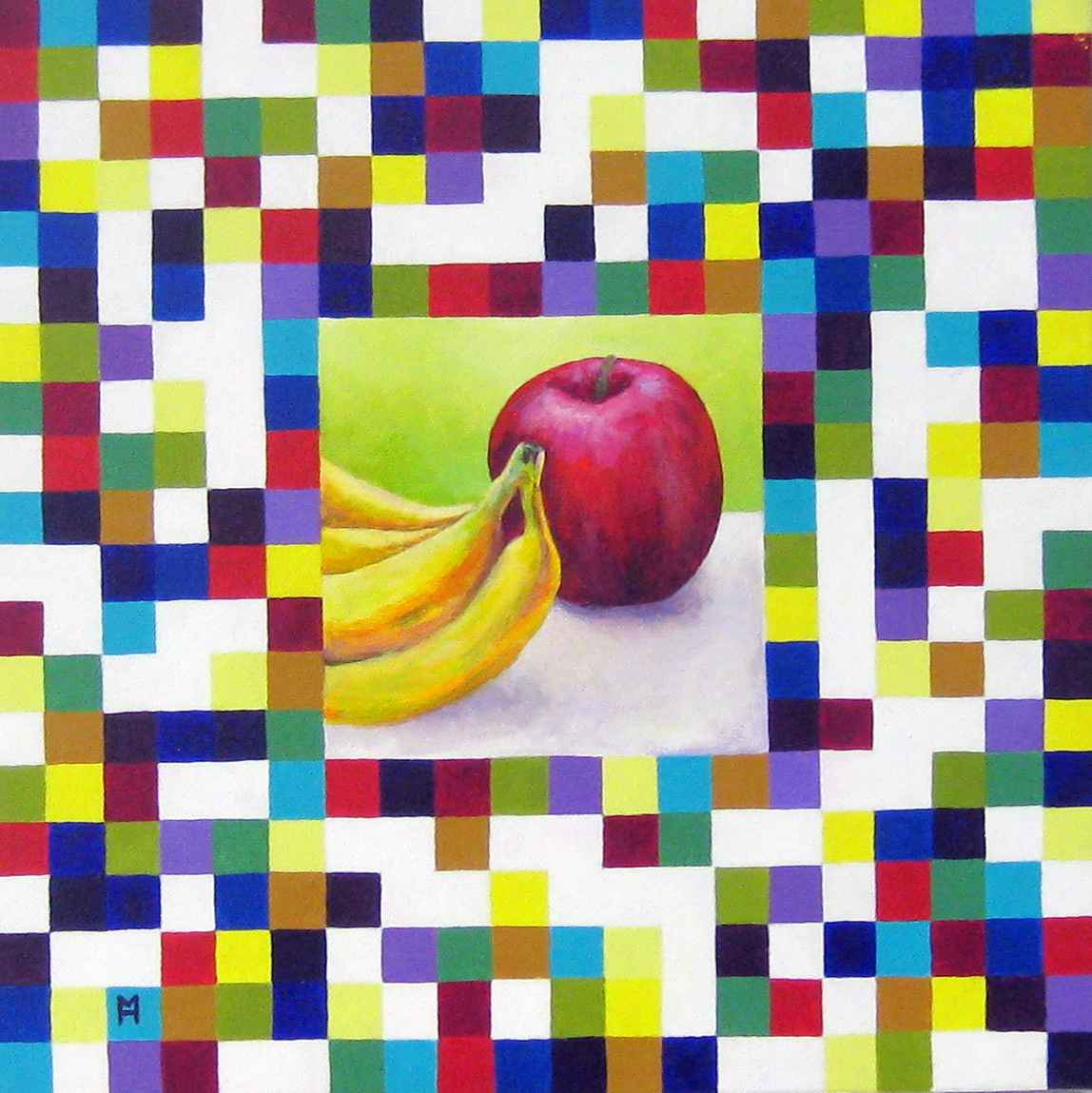 Geometric Still Life ... by  Heather Meyer - Masterpiece Online
