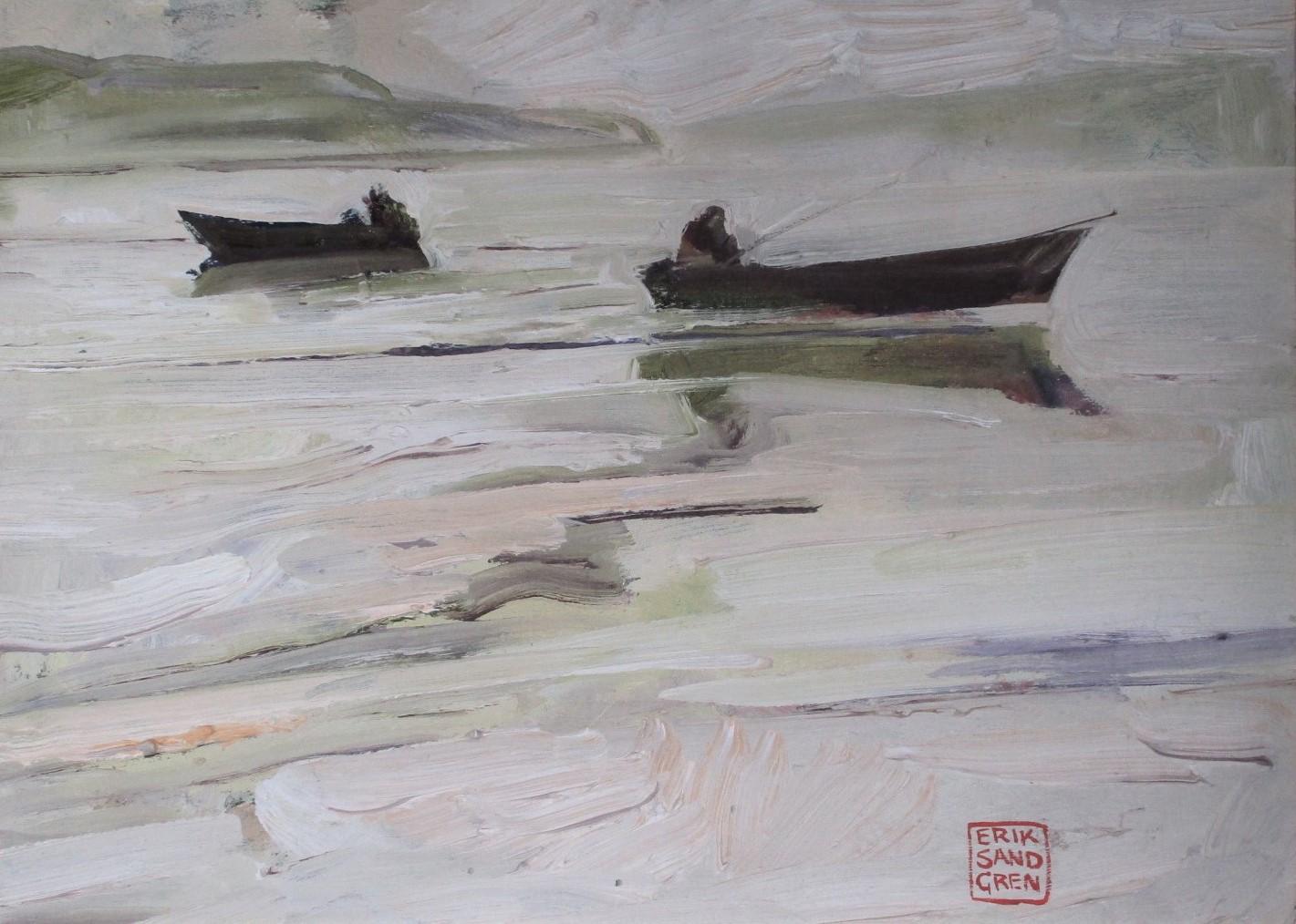 Trolling Fishermen by  Erik Sandgren - Masterpiece Online
