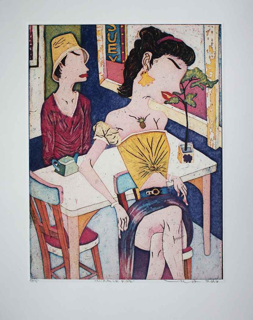 YUHI053 MIRACLE PINE by  Yuji Hiratsuka - Masterpiece Online