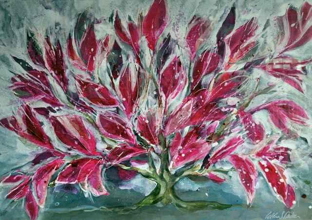 Pink Bush by  Idoline Duke - Masterpiece Online