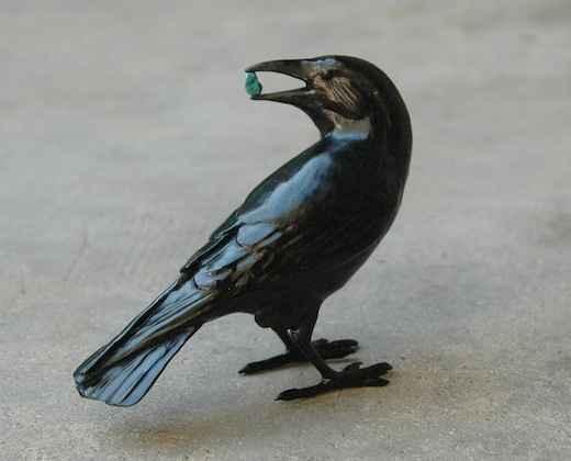Small Raven VII by  Jim Eppler - Masterpiece Online