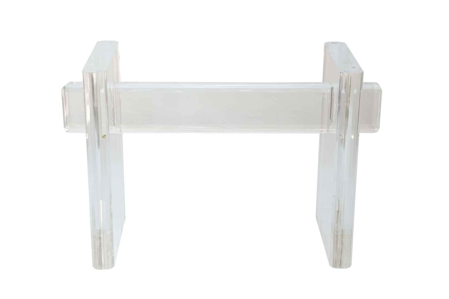 Chunky Lucite Table B... by  American  - Masterpiece Online