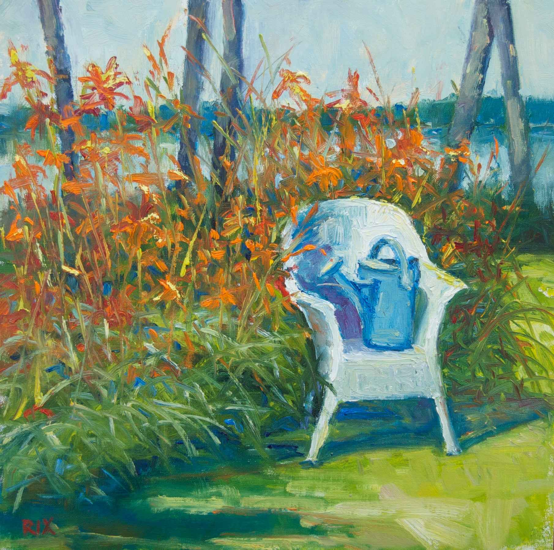 Waiting to Water by  Lynn Rix - Masterpiece Online