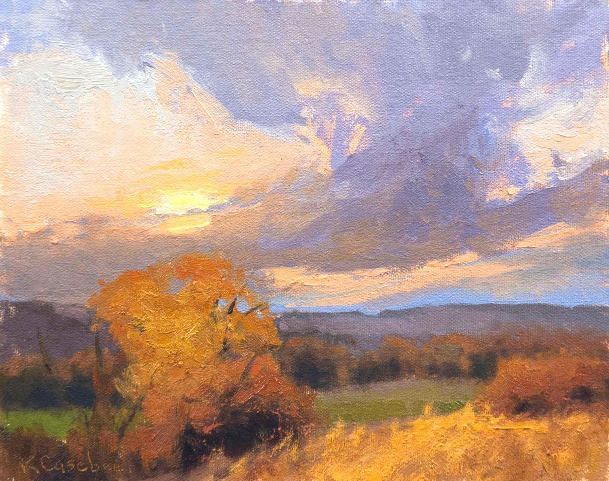 Tallgrass Sunset by  Kim Casebeer - Masterpiece Online