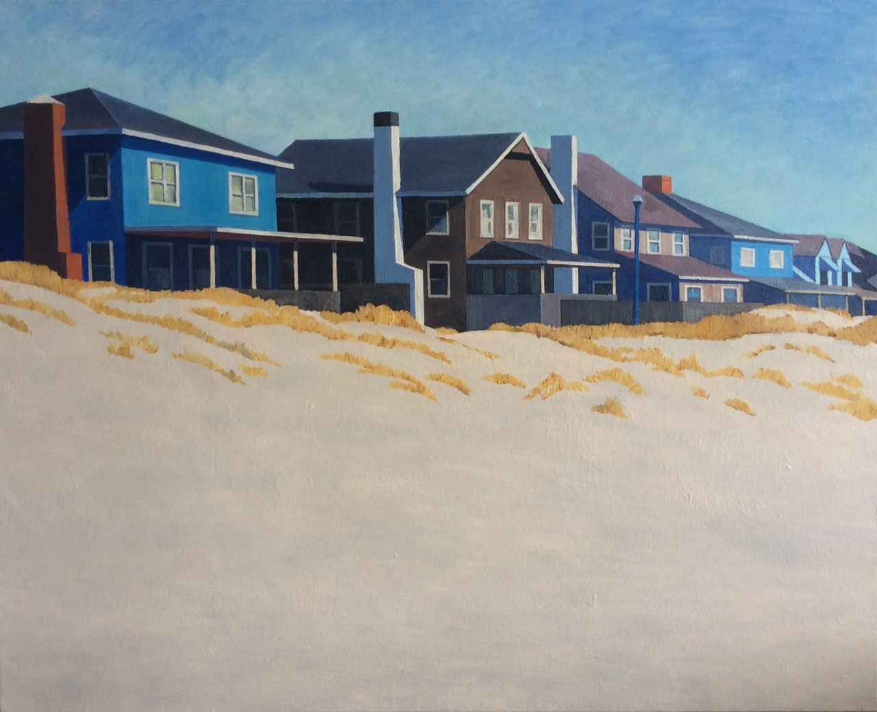 Houses, Atlantic Beach by  Peter Butler - Masterpiece Online