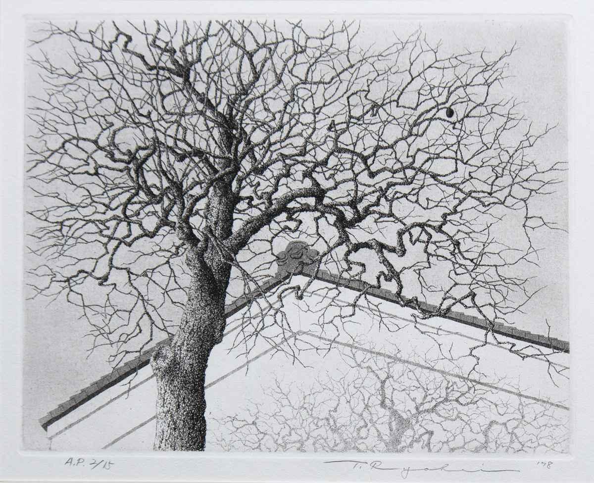 Persimmon Tree by  Ryohei Tanaka - Masterpiece Online