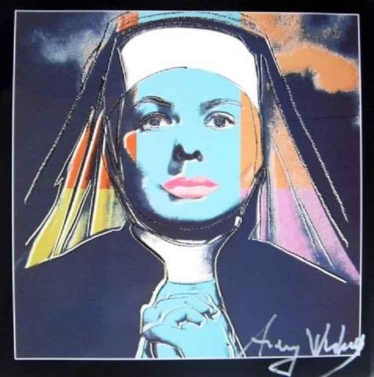 Ingrid Bergman as Nun by  Andy Warhol - Masterpiece Online