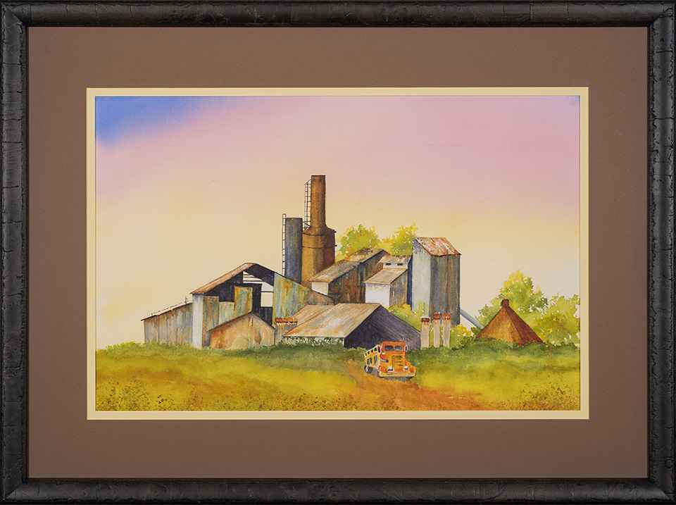 Old Koloa Sugar Mill by Courtney Brown