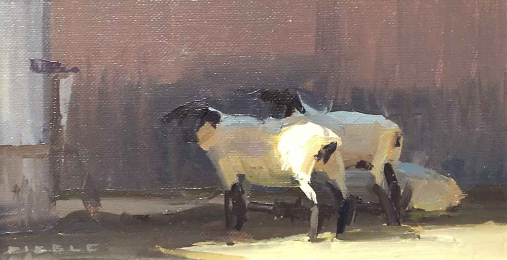 Warming Up - Study  by  David Dibble