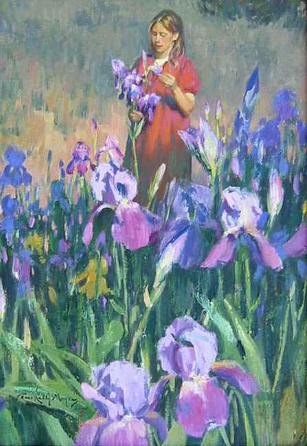 The Iris Garden by Mrs. Terri Kelly Moyers - Masterpiece Online