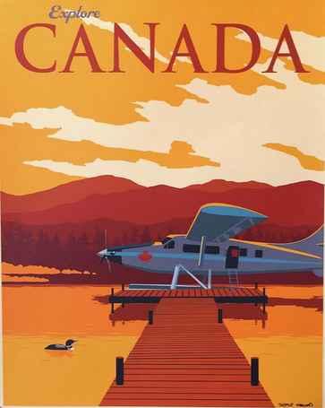 KBE - Explore Canada ... by  Steve Thomas - Masterpiece Online