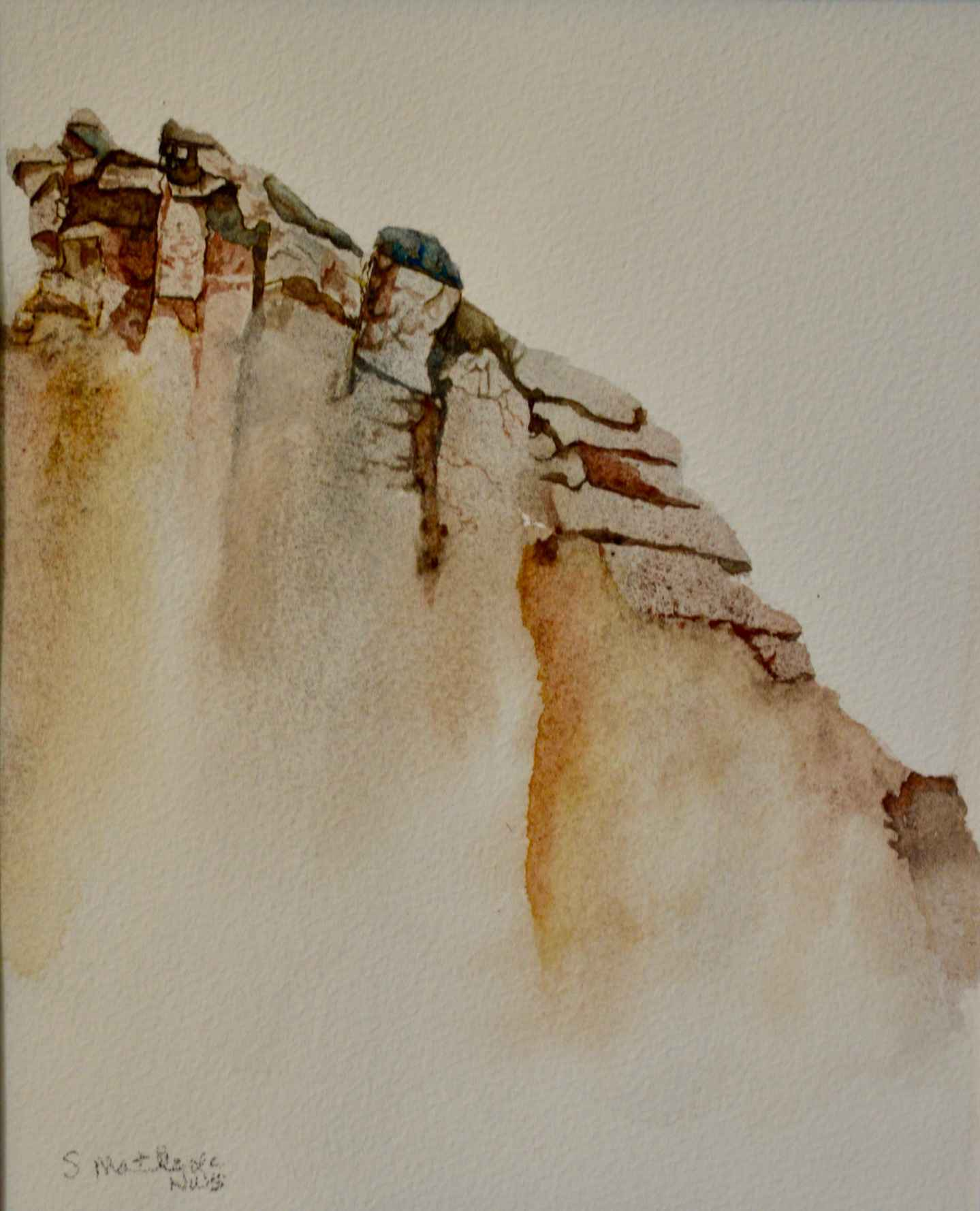 Rocky Sabino Slopes by  Sherry Matlack - Masterpiece Online
