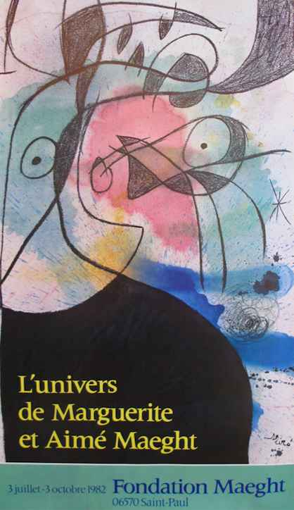 Exhibition - L'univer... by  Joan Miro - Masterpiece Online