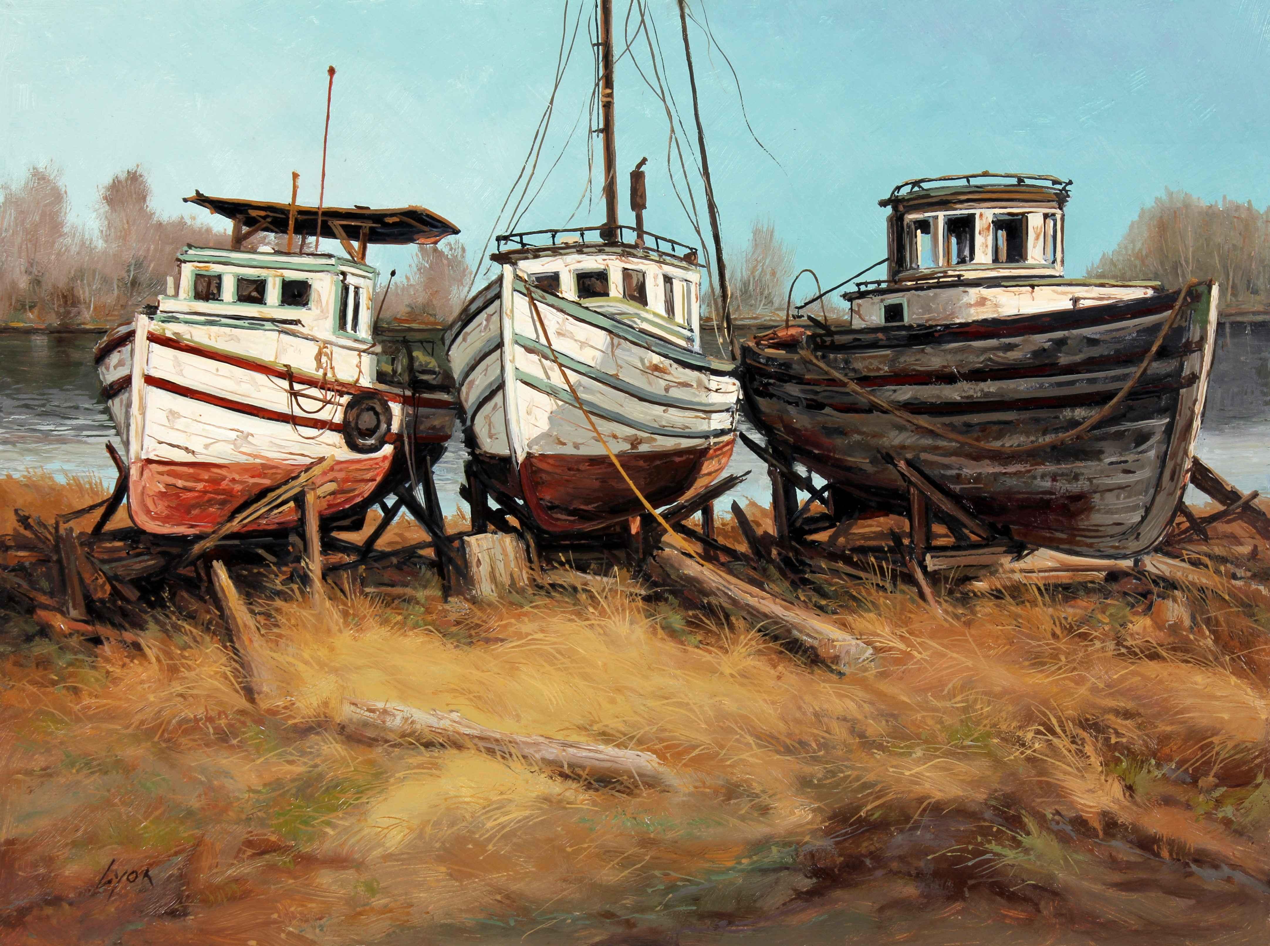 Three Sisters  by  Harold Lyon