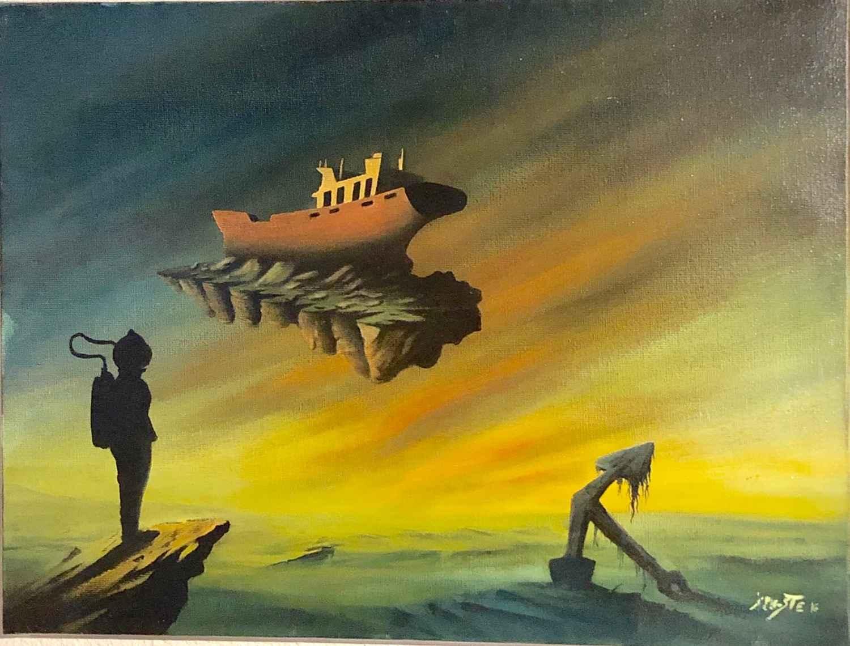 Voyage climatique by  Xavier L'HOSTE - Masterpiece Online