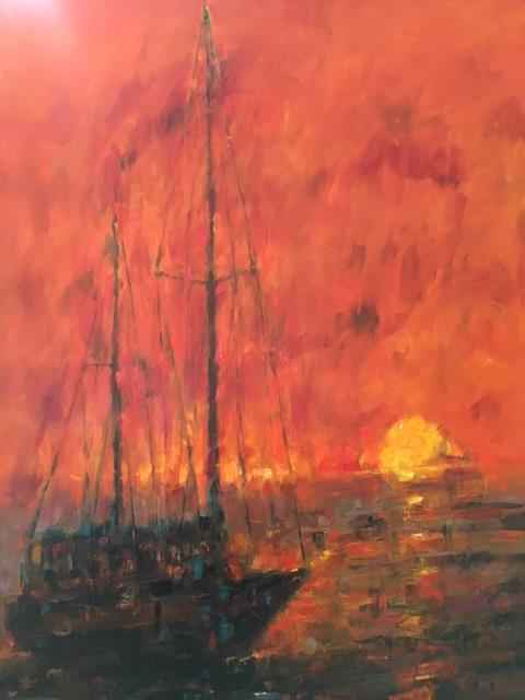 Caribbean Sunset by  Patrick Romelli - Masterpiece Online
