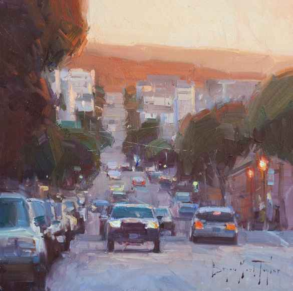 City Sunset - BMT  by  Bryan Mark Taylor