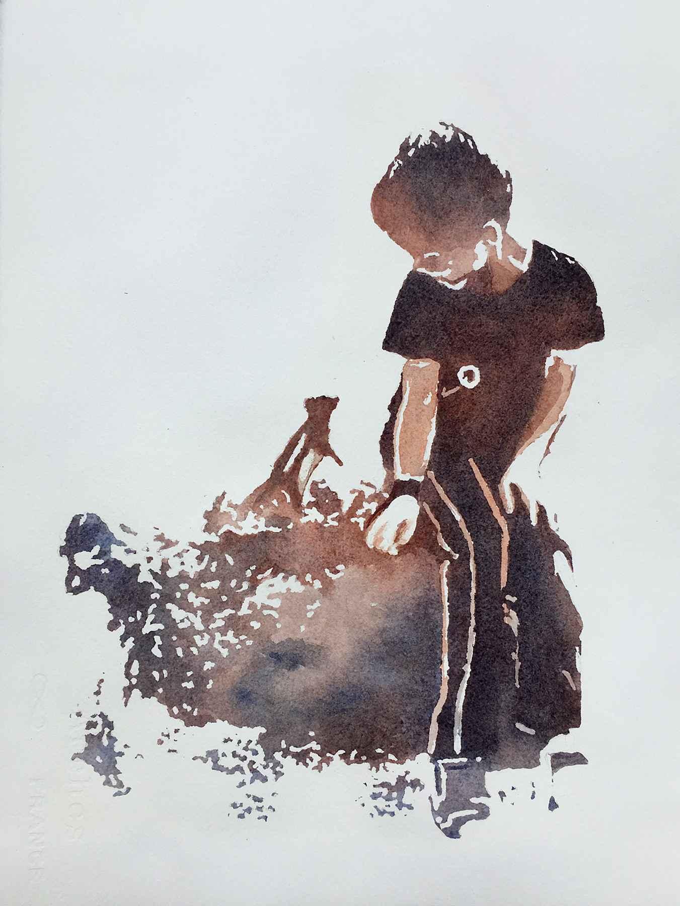 Joshua by  Nancy Huber - Masterpiece Online