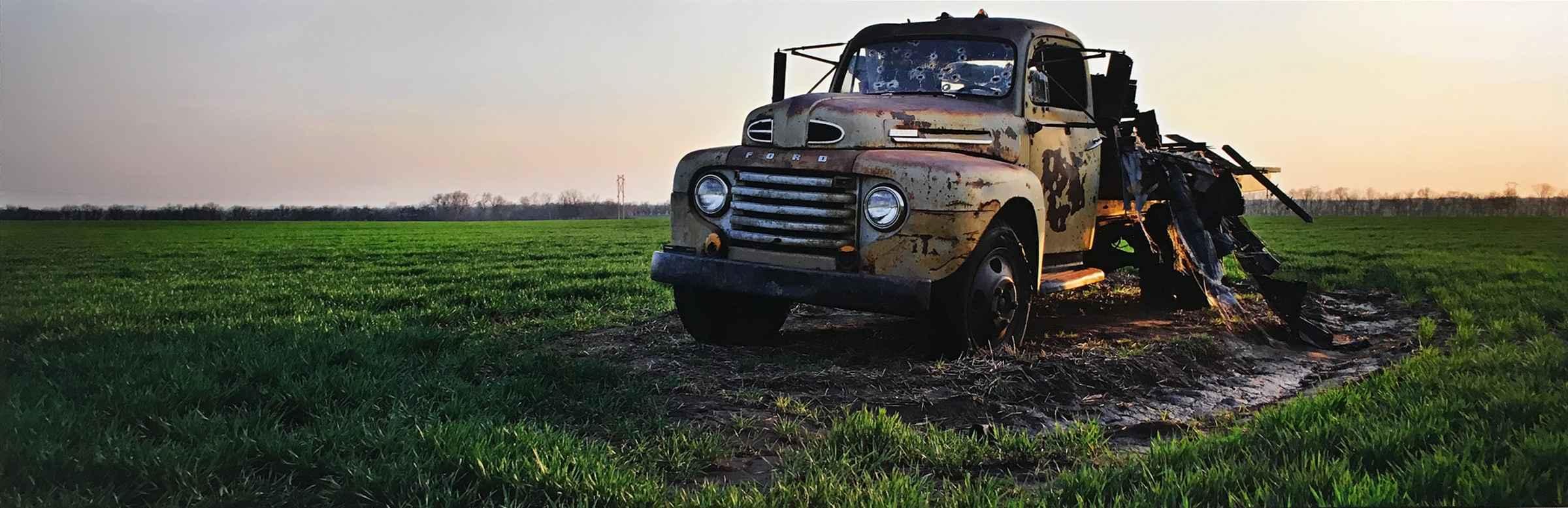Truck, Saline Co. by  George Jerkovich - Masterpiece Online