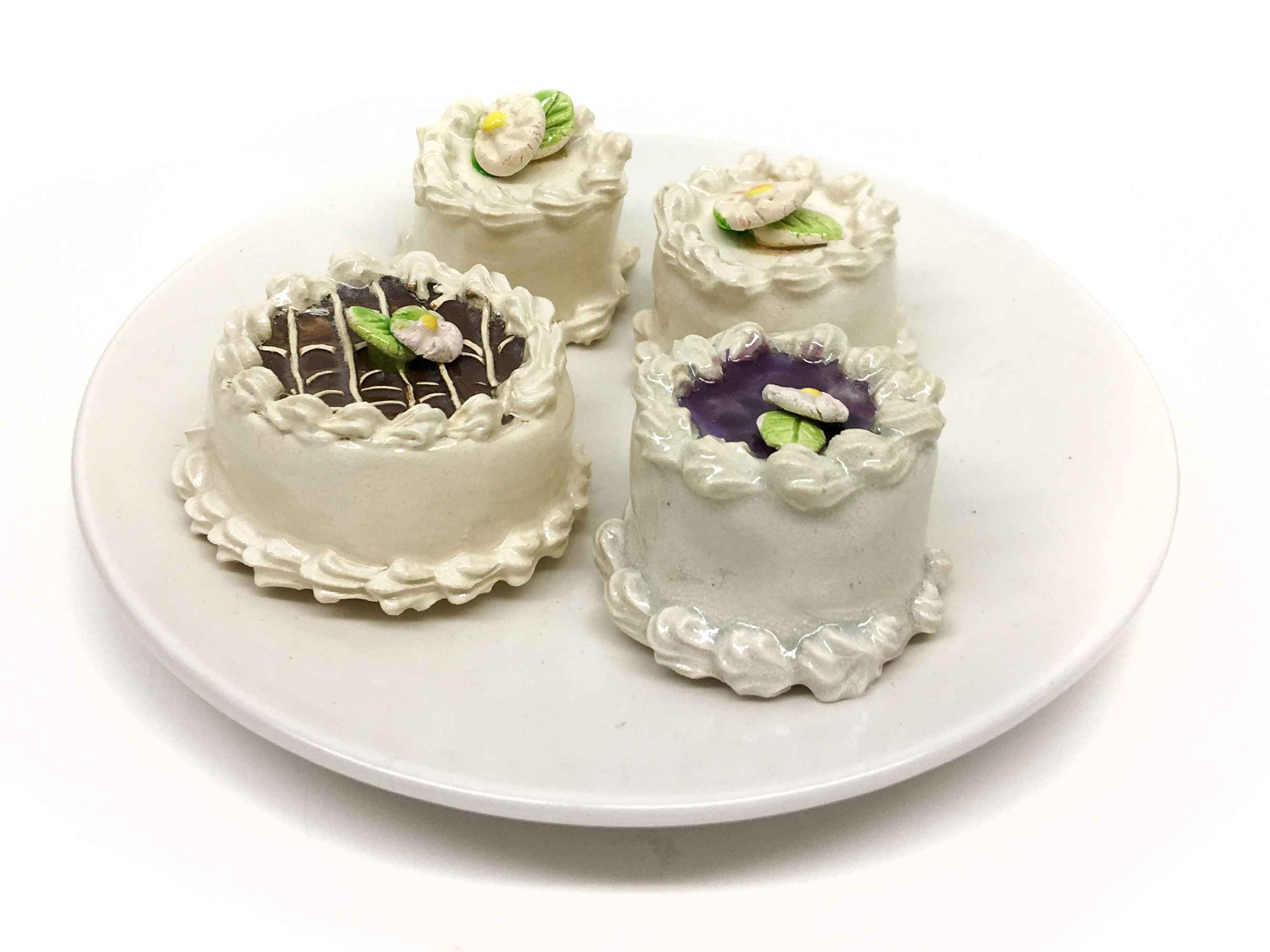 Plate Of Four Cakes (...  by  Jeff Nebeker