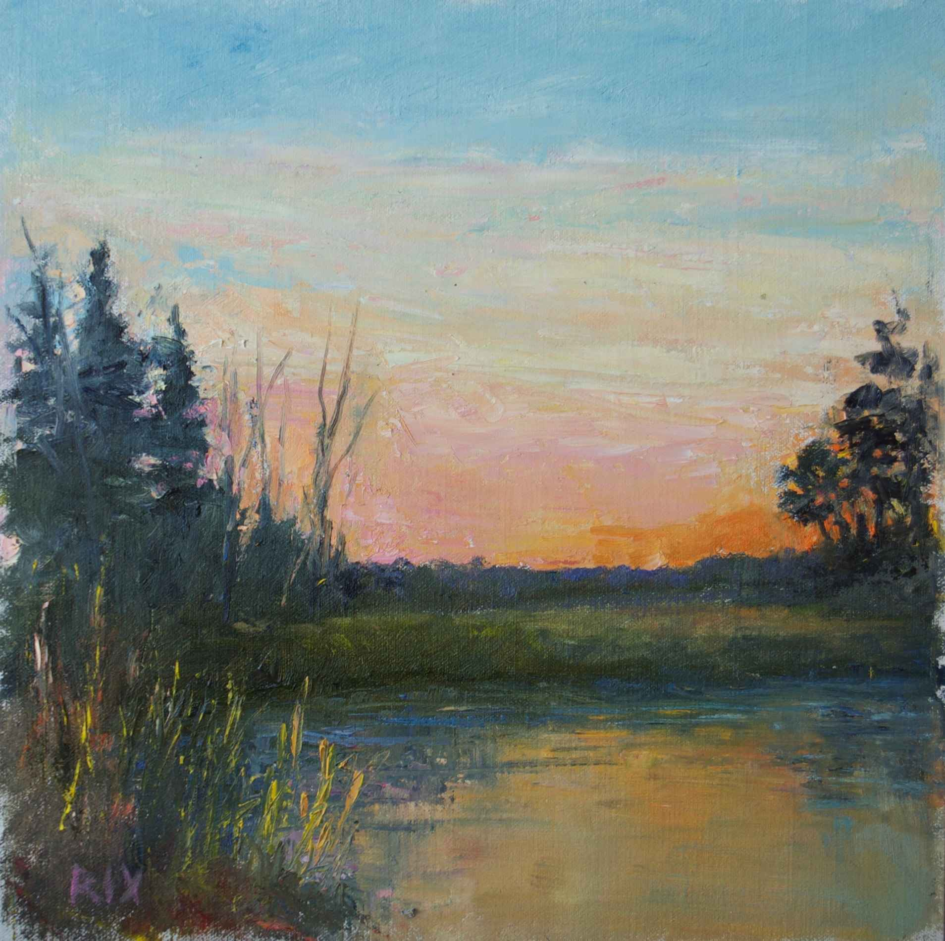After Glow by  Lynn Rix - Masterpiece Online