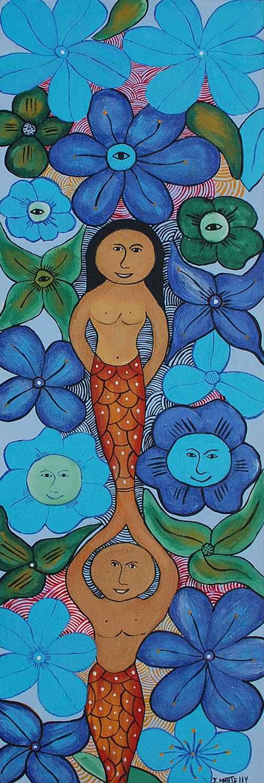 Mermaid in Blue by  Jameson MARTHELLY - Masterpiece Online