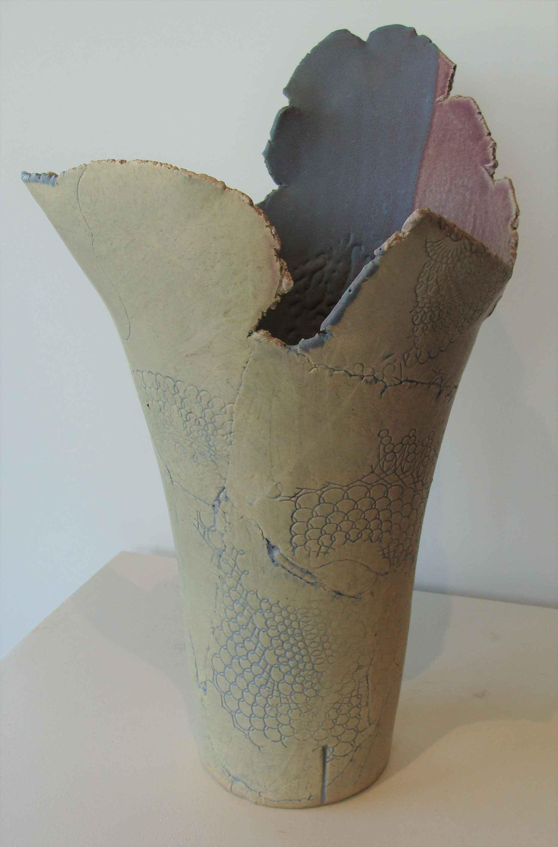 Vertical Vessel # 2 by Ms. Jo Gross - Masterpiece Online