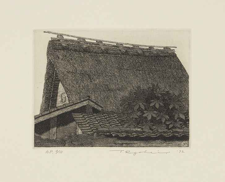 Thatched Roof No.15 by  Ryohei Tanaka - Masterpiece Online