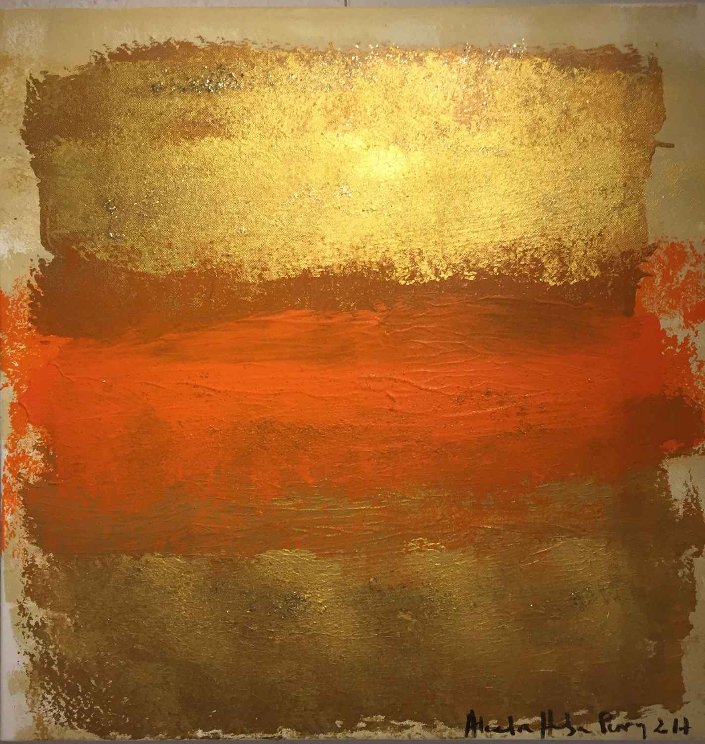 Christmas Gold 2 by  Alexandra HEUMBER PERRY - Masterpiece Online