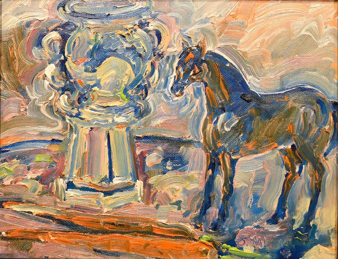 Horses Figurine with ...  by  Bill McCall