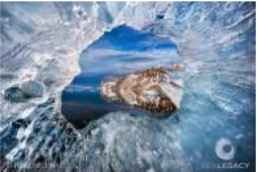 Through the Hole  by  Paul Nicklen