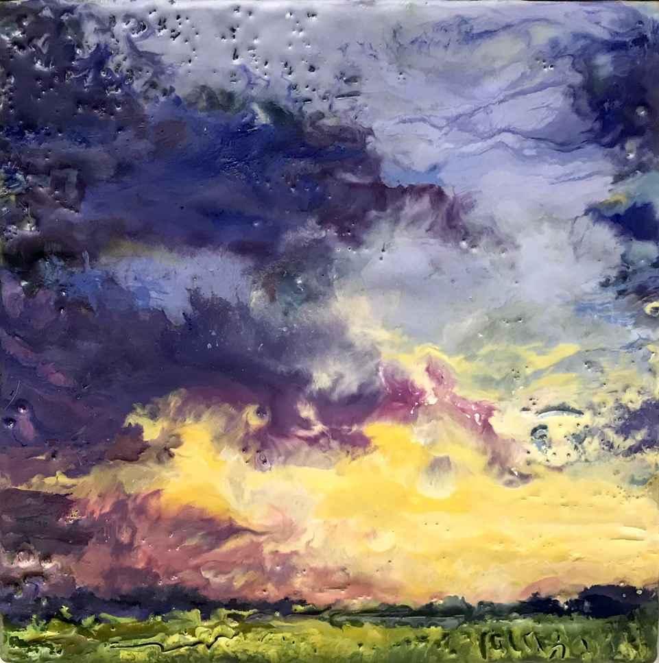 Little Sky #3 by  Kathy Bradshaw - Masterpiece Online