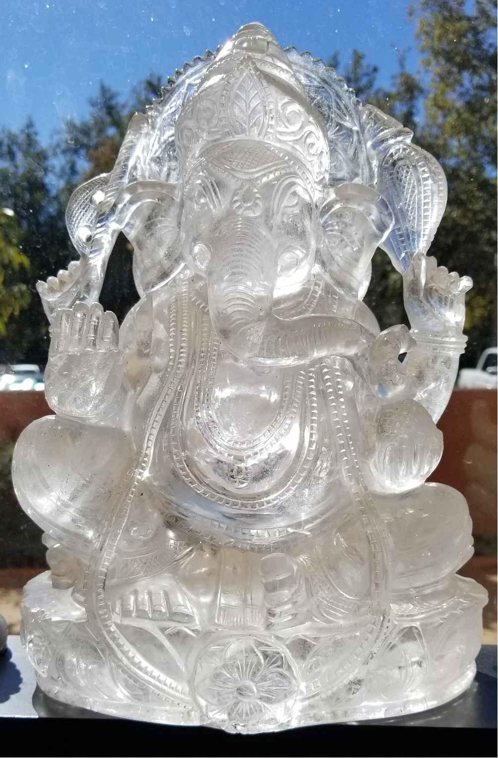 Ganesha Clear Quartz by   Starborn - Masterpiece Online