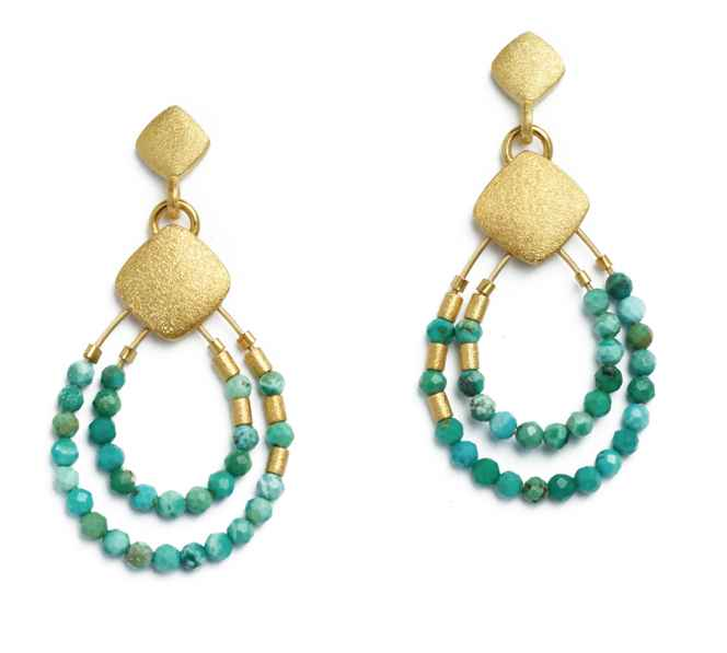 Climini Turquoise Ear... by  Bernd Wolf - Masterpiece Online