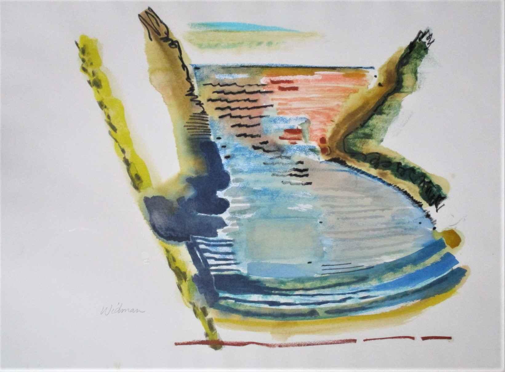 Unknown (Inlet) by  Harry Widman - Masterpiece Online