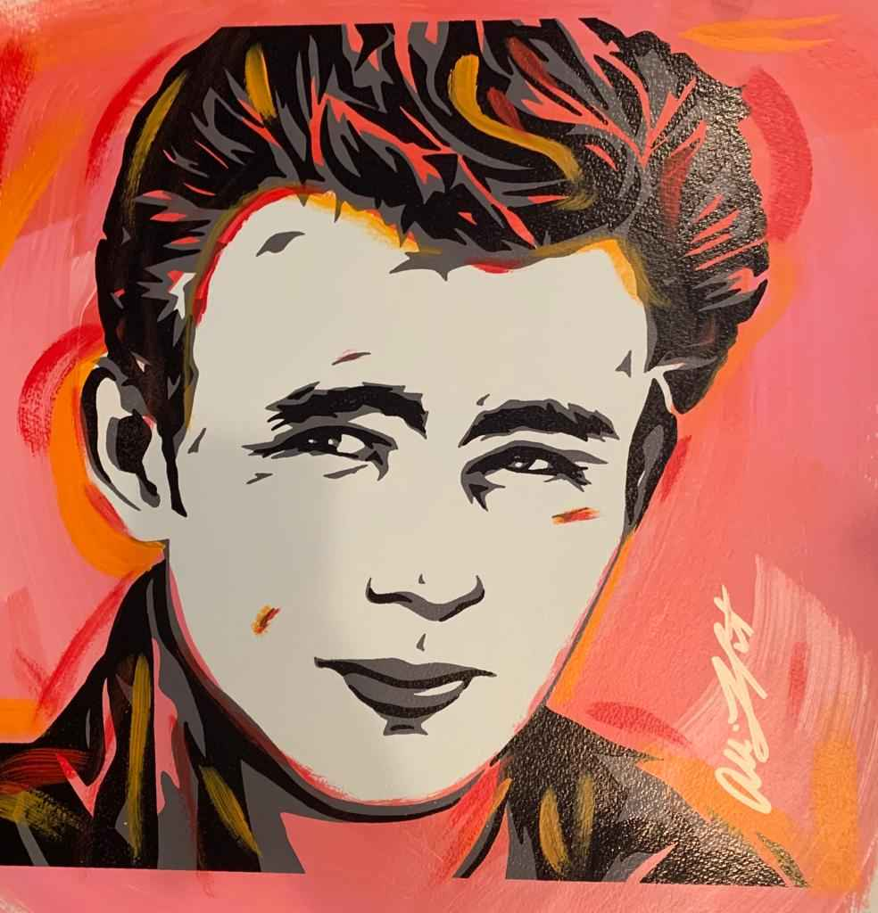 James Dean Pink by   Lefcort, Allison - Masterpiece Online