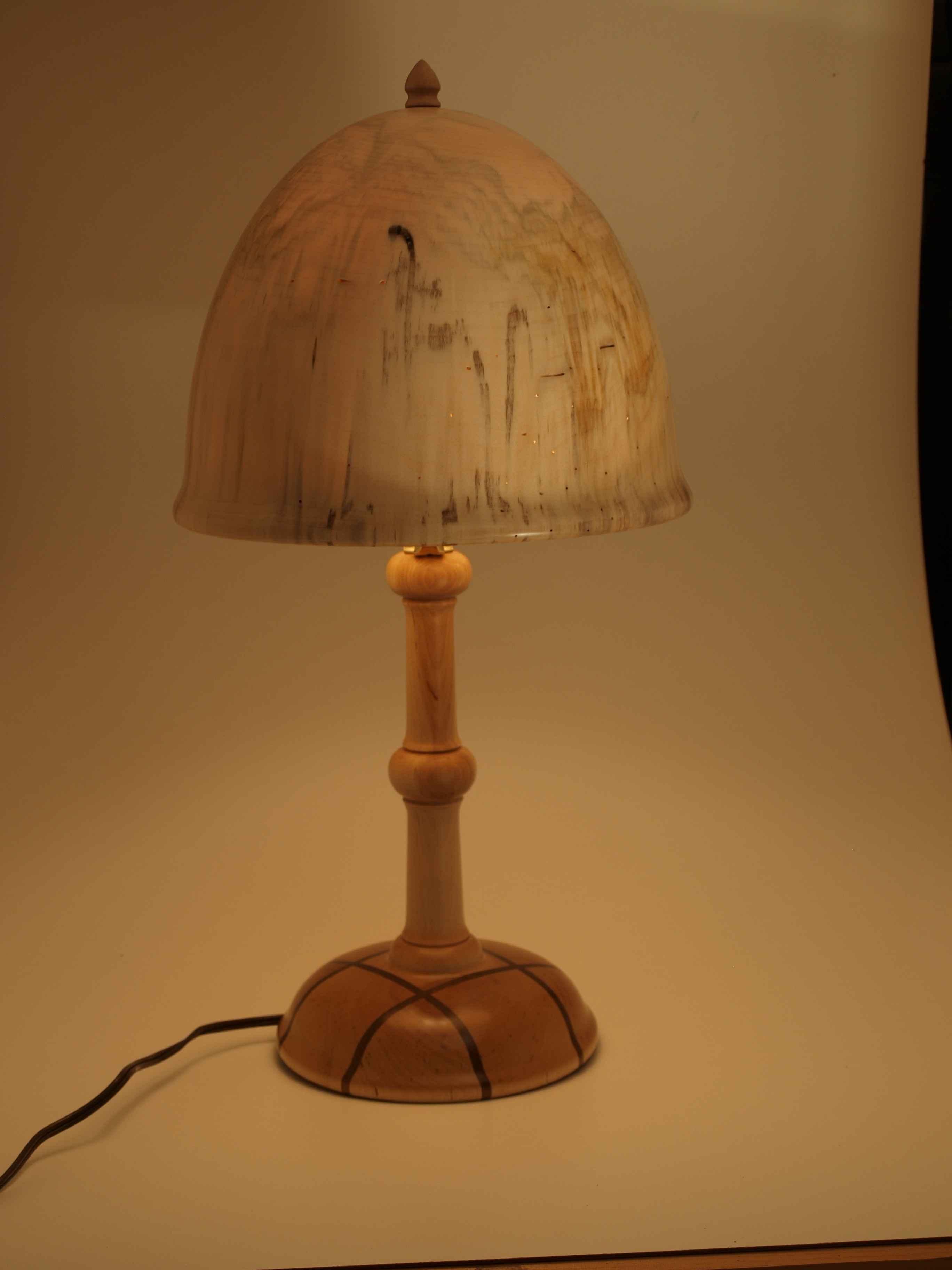 Three Wood Lamp #2