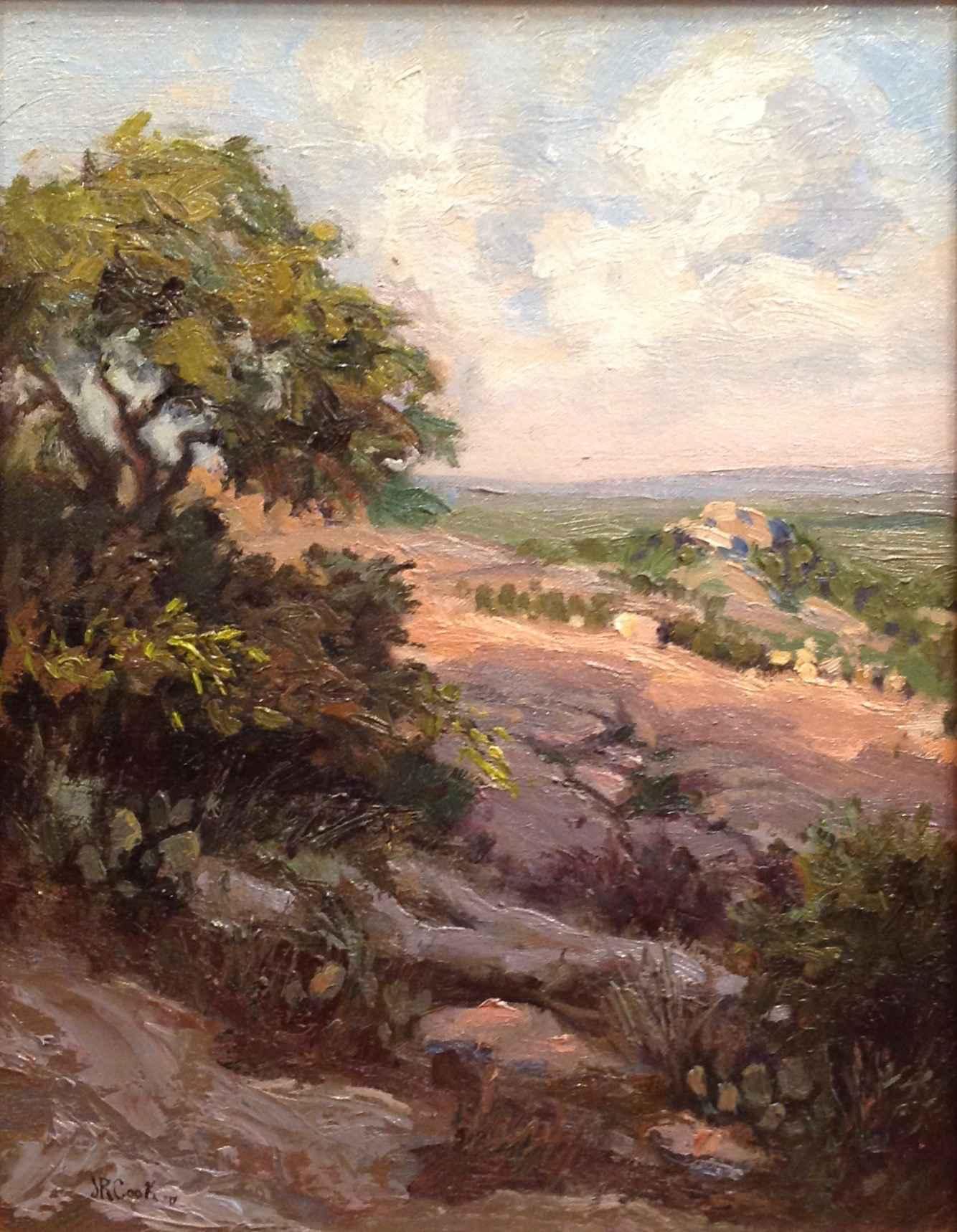 View of Turkey Peak /... by  JR Cook - Masterpiece Online