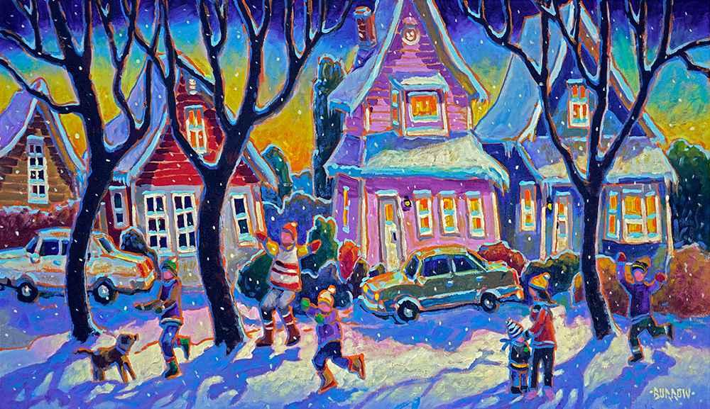Village Play by Mr John Burrow - Masterpiece Online