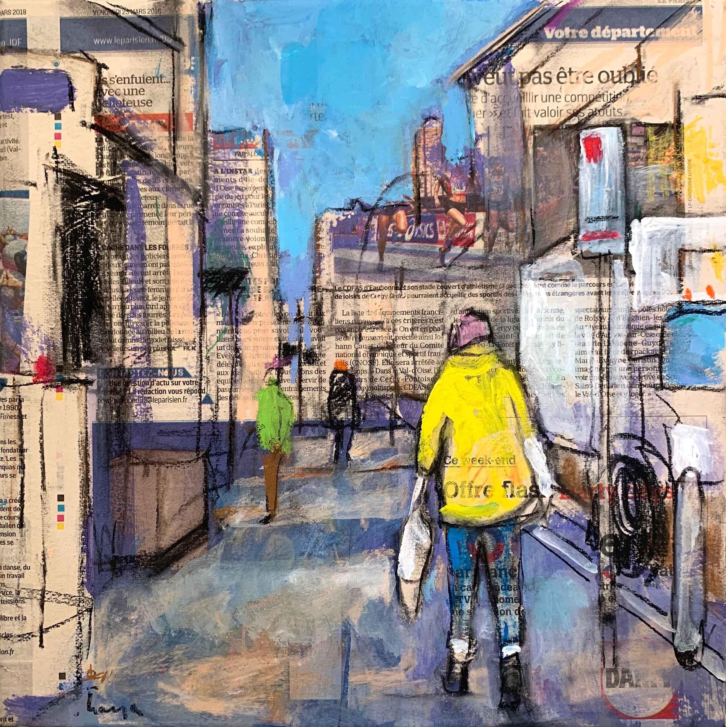 Une Promenade (A Walk) by  Traeger di Pietro - Masterpiece Online