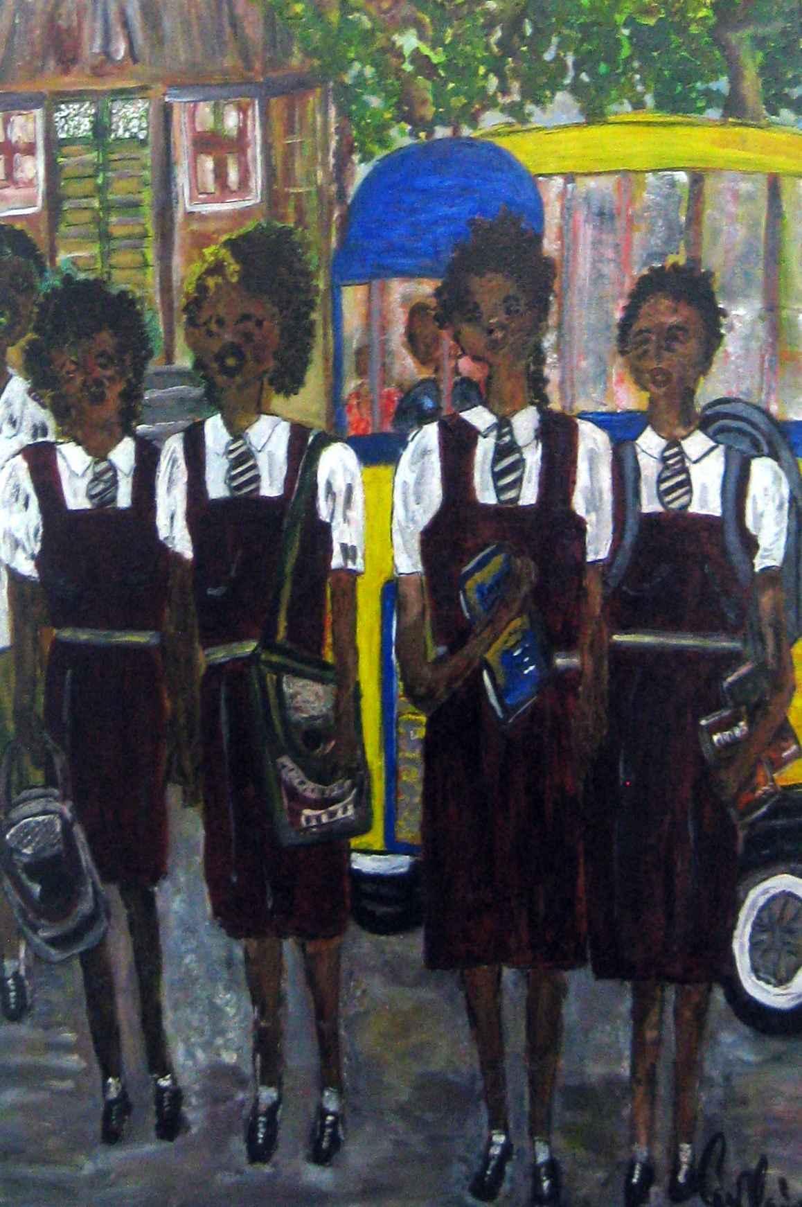 Bussing the School Gi... by Mrs. Carol Cadogan-Fox - Masterpiece Online