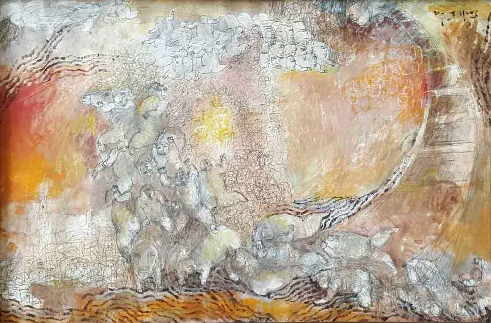 Crawl at Sea by Mr. Yang Yang - Masterpiece Online