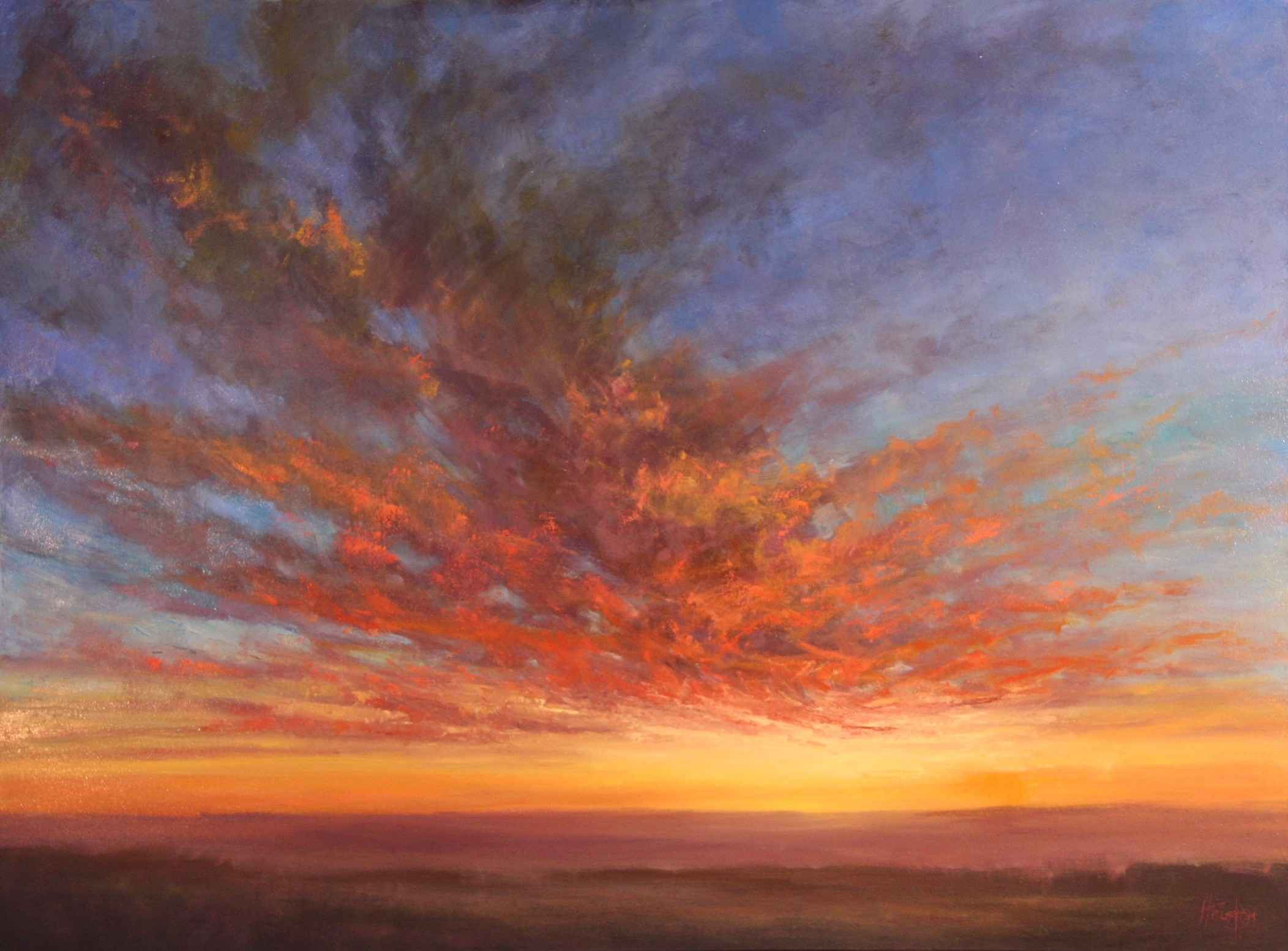 Another Brilliant Sun... by  Amanda Houston - Masterpiece Online