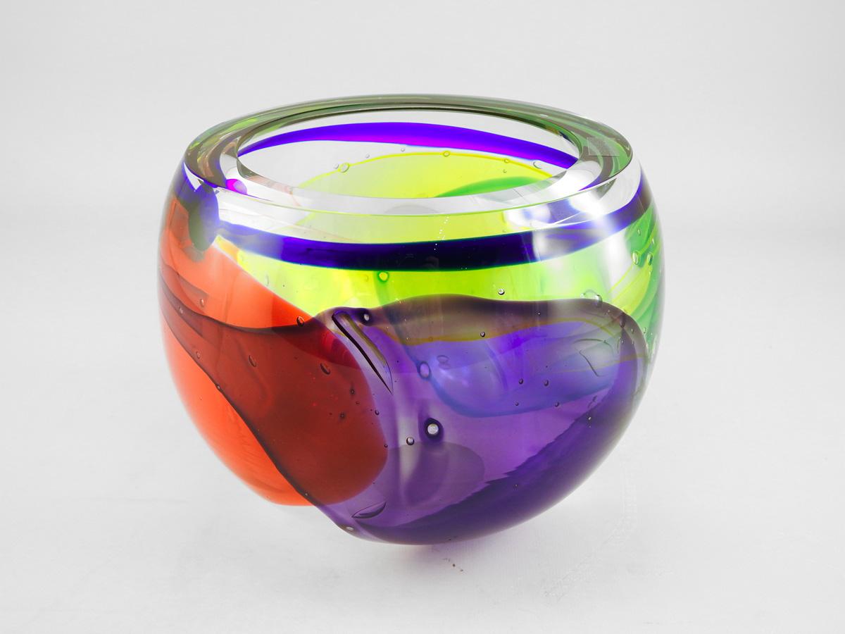 Lava Bowl by  Leon Applebaum - Masterpiece Online