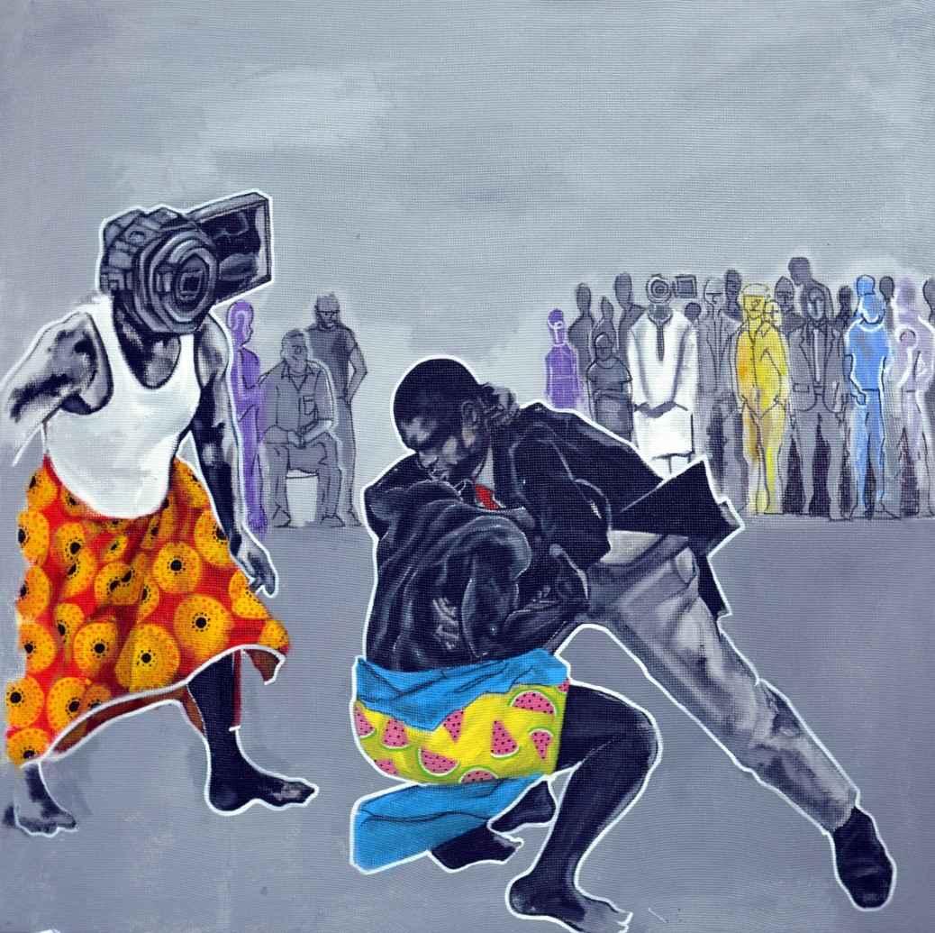 The Watcher Sees Best by Mr John Madu - Masterpiece Online