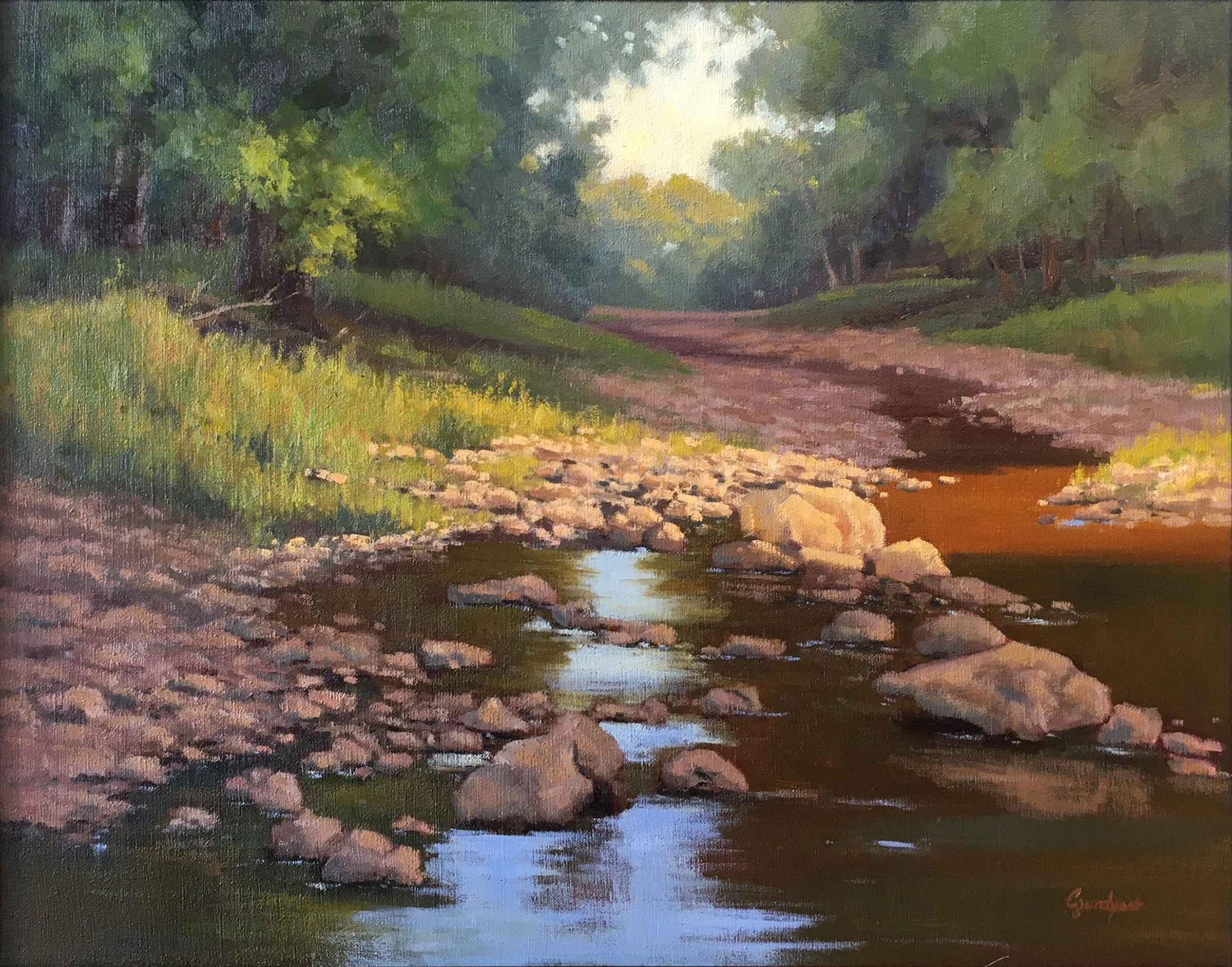 Stream of Light represented  by  Cristine Sundquist