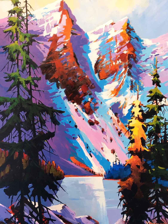 Two of the Ten Peaks-... by  Branko Marjanovic - Masterpiece Online